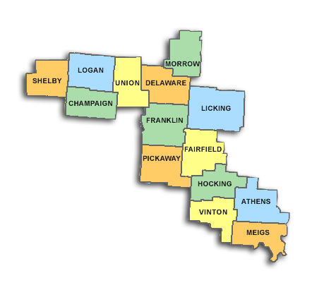 columbus-service-area-map